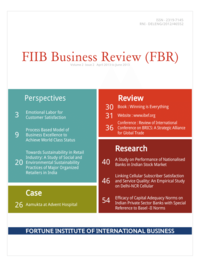 FIIB Business Review