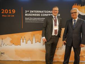 Prof. Dr. Rainer Wehner and Prof. Dr. Emin Akcaoglu